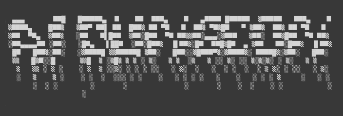 The ASCII-art header of AI Dungeon